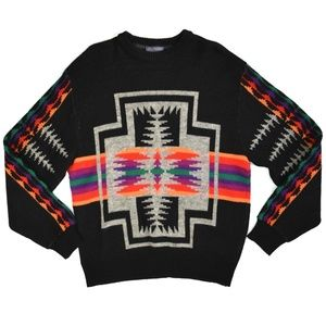 PENDLETON Chief Joseph Aztec Wool Sweater